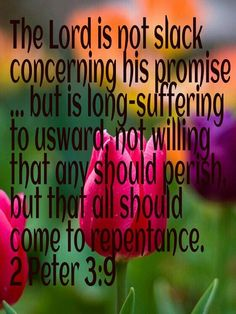 The Lord is not slack concerning his promise. Scripture Verses, Bible Scriptures, Bible Quotes, Spiritual Inspiration Quotes, Biblical Inspiration, Strong Faith, Faith In God, Inspirational Quotes Pictures, Gods Promises