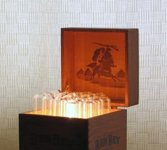 Not Just a Cigar Box lamp by 4FLighting on Etsy, $135.00