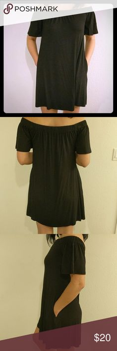 Summer dress Simple black summer dress. Great for hot weather or beach. Excellent condition Dresses
