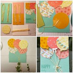15 Super Idées de Faire-Part de Naissance à Faire Soi-Même SANS Se Ruiner. Happy A, Scrapbook Cards, Birthday Cards, Paper Art, Baby Shower, Crafty, Activities, Comme, Juliette