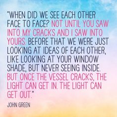 """Quotes From Paper Towns Paper Towns Quote """"at Some Point You Gotta Stop Looking Up At The ."""