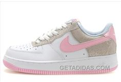 new style a2880 7396e Buy Soldes La Mode Resistant A L usure Nike Air Force 1 Low Easter Hunt 3 Femme  Blanche Rose Grise Magasin Online from Reliable Soldes La Mode Resistant A  ...