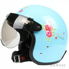 Fashion Halley EVO half capacete,women's electric bicycle Open face helmets,Pink Hello Kitty Motorcycle helmet
