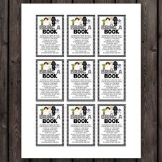 Starwars Baby Shower Bring A Book Card Inserts, Baby Boy Star Wars Shower  Cards, Bring A Book Instead Of A Card, Instant Download
