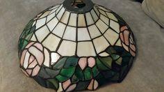 Cortina de la lámpara de vidrio Retro-Vintage por RobinsTreasures