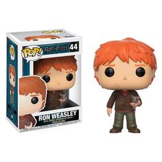 Harry Potter Ron Weasley with Scabbers Pop! Vinyl Figure - Funko - Harry Potter - Pop! Vinyl Figures at Entertainment Earth