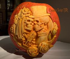 Image shared by Coco ►. Find images and videos about art, Halloween and natural on We Heart It - the app to get lost in what you love. Skull Pumpkin, Pumpkin Art, Pumpkin Faces, Pumpkin Crafts, Pumpkin Ideas, Skeleton Pumpkin, Pumpkin Stencil, Halloween Art, Halloween Pumpkins
