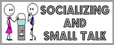 Socializing and Small Talk ESL EFL Teaching Resources - These functional language resources help students to learn techniques for making small talk and socializing. These techniques include using echo questions and words, practicing phrases for showing attention, agreement and interest, and asking follow-up questions. Students also learn what small talk is, and how and when to use it as well as common phrases and responses to everyday expressions.