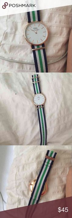 Rose gold daniel wellington watch Rose Gold Daniel Wellington Watch. Worn a few times, needs a new battery. Great condition :) Daniel Wellington Accessories Watches