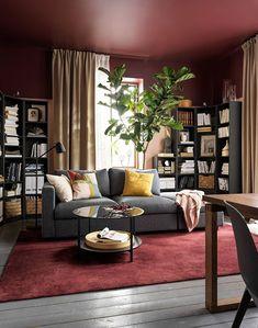 IKEA - Κατάλογος 2021 Living Room Remodel, Living Room Paint, Living Room Colors, Home Living Room, Living Room Decor, Simple Living Room, Small Living Rooms, Living Room Trends, Living Room Designs