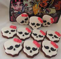 Cookies Calavera Monster High