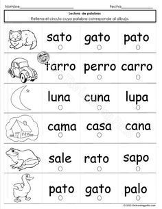 Here I list a number my optimal methods. Learning a foreign language can be amusing and remarkable. Spanish Worksheets, Spanish Teaching Resources, Spanish Activities, Spanish Language Learning, Speech And Language, Foreign Language, Spanish Lessons For Kids, Spanish Lesson Plans, Spanish Teacher