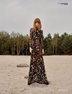 The Wild Side: Anna Vakalo Stars in Design SCENE Magazine