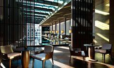 The Pool Lounge Area | Luxury Swiss Hotel | The Chedi Andermatt Hotel Ski Resort Switzerland | GHM hotels