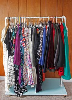 Amanda k. by the Bay: my clothing rack