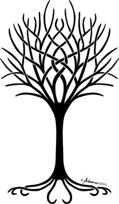 Love this Tree Of Life. If I EVER had the courage to get a tattoo, this would be it, with our childrens names as part of it.