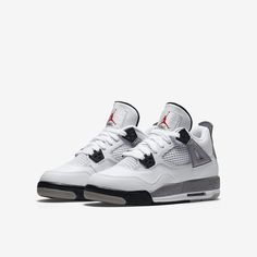 the latest 80f56 31b21 Air Jordan 4 Retro OG  cement  Re-released - Air Jordan 4 Retro OG - size 4  kids - equal to size 6 women s - comment to negotiate private deal for less  Nike ...