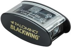 The Blackwing Long Point Pencil Sharpener creates the perfect point using a two-step sharpening process.