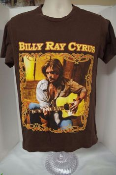 bc9bcef0 Billy Ray Cyrus Concert Tour 2007 T-shirt Tee Sz M Medium Authentic  #Unbranded