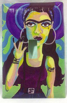 Chola Frida light switch cover $7