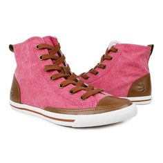 High Top Vintage Women's Red