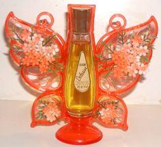 Vintage Delagar 'Exclusive' Figural Butterfly Perfume Cologne Display   eBay