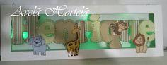 Nomes personalizados com tecidos diversos, fazemos com a cor e aplicações que desejar. Possue 4 luz de led ao fundo do quadro. Temos led´s nas cores: - branco - verde - azul - rosa - lilás (luz negra/violeta) - amarelo - vermelho  Nomes com até 7 letras mede aprox. 24 x 60cm.  Fazemos outros tamanhos, consulte-nos !!! R$ 150,00