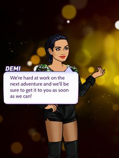 Demi Season Three is amazing. http://bit.ly/GetEpisode #episode #DemiPathToFame