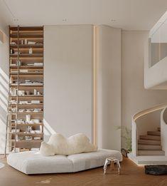 Cozy Apartment, Urban Design, Behance, Loft, Wall Decor, Living Room, Interior Design, Elegant, Architecture