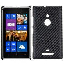 Coque Lumia 925 - Carbonne Noir  8,99 €