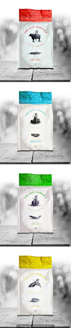 The Lazy Farmer's  #packaging