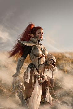 Howling Banshee, photo of a costume made and modeled by Narga-Lifestream