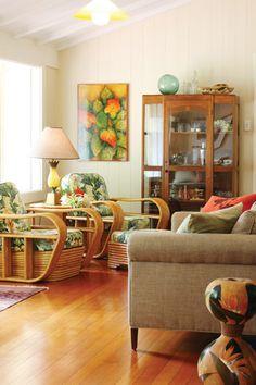 Bamboo Chairs  Old Charmer   Maui Magazine   September October 2011   Maui,  Hawaii