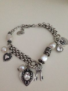 Shell pearl bracelet from Miglio. Can be worn as a necklace when added to an extender. So versatile! Ring Necklace, Pearl Bracelet, Earrings, Ankle Bracelets, Bangles, Charm Bracelets, Jewelry Accessories, Jewelry Design, Designer Jewellery
