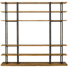 Modern Craftsman Robie House Screen Room Divider with Six Shelves by Stanley Furniture - Belfort Furniture - Open Bookcase Washington DC, Northern Virginia (NoVA), Maryland, and Dulles, VA Room Divider Bookcase, Bookcase Storage, Bookshelves, Shelving, Open Bookcase, Media Storage, Room Dividers, Large Furniture, Modern Furniture