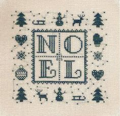 Christmas cross stitch. Detallitos de alrededor.