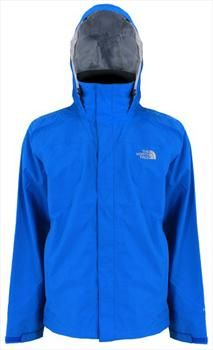 breathable The North Face P8 Lightweight Shell Jacket, Men's M, Athens Blue