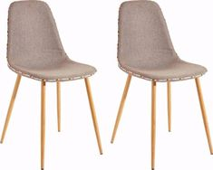 Set of 2 chairs ASTARIA in cappuccino metal legs Grey Living Room With Color, Living Room Turquoise, Living Room Red, Living Room Accents, Living Room Colors, Green Accents, Accent Colors, Montage, Hygge