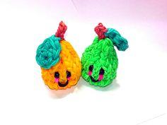 3-D Happy Pear Tutorial (Rainbow Loom)