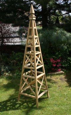 garden obelisk wooden | Home » Garden Architecture » Wooden Obelisks
