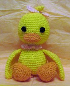 Baby Duck.  Quality handmade crochet pieces.  https://www.facebook.com/media/set/?set=a.858817967541445.1073741829.858817850874790&type=3