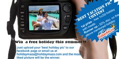 win a free holiday !