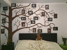 Paint Wall - Photo on the wall - DIY Ideea