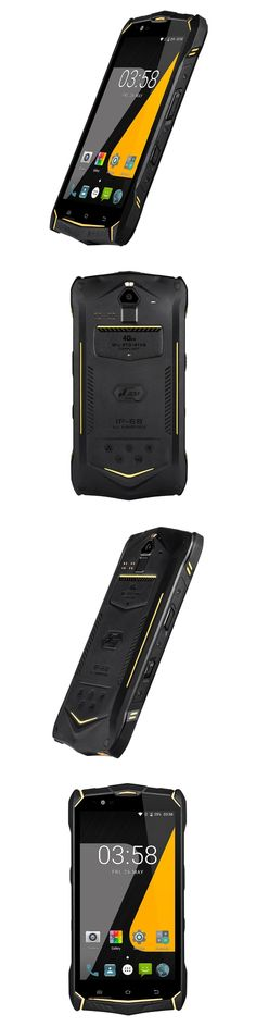 5.5 inch Android7.0 OS Rugged phone with 1080*1920 resolution and Anti-explosion Glass screen