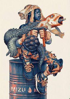 Art by James Jean*  • Blog/Website   (www.jamesjean.com) • Online Store   (www.store.jamesjean.com) ★   