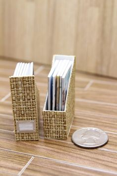Miniature Magazine Organizer/Binder Playscale