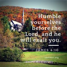 """Humble yourselves before the Lord, and he will exalt you."" James 4:10 #Scripture  Photo: Chatlos Memorial Chapel at The Cove in Asheville, NC"