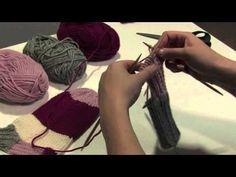 Villasukka 2: Kantapää Arts And Crafts, Diy Crafts, Knitting Socks, Knit Crochet, Stockings, Textiles, Youtube, Pattern, Inspiration