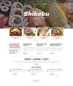 Sushi Bar Joomla Template