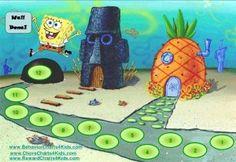 SpongeBob Behavior Chart